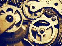 Ta tid på mekanismen som göras i tekniken av toningen Royaltyfri Fotografi