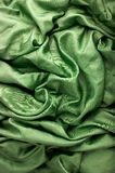 tła tkaniny zieleń Obrazy Stock