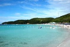 Ta-waen Beach at Koh Larn Royalty Free Stock Photography