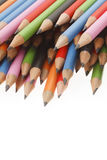 tła zakończenia barwioni ciemni grafitowi ołówki grafitowy Obrazy Stock