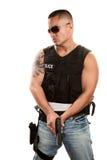 Taaie Cop stock foto