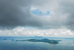taal ηφαίστειο των Φιλιππινών Στοκ φωτογραφία με δικαίωμα ελεύθερης χρήσης