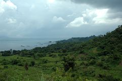 Taal lake Royalty Free Stock Images