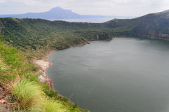 Taal lake and volcano, Philippines Royalty Free Stock Photography