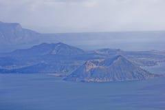 taal tagaytay вулкан Стоковое фото RF