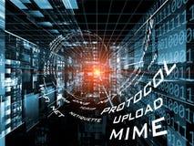 Taal van de Technologie van Internet Royalty-vrije Stock Foto
