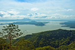 Taal Volcano Royalty Free Stock Photos