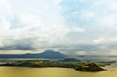 Taal Volcano Stock Photography