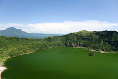 Taal volcano crater lake philippines royalty free stock photography