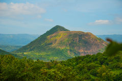 Taal Volcano on Luzon Island North of Manila, Philippines Royalty Free Stock Images