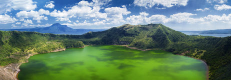 Taal volcano, Manila, Philippines Royalty Free Stock Images
