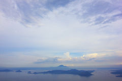 Taal volcano, Tagaytay Royalty Free Stock Photos