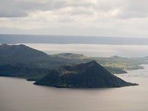 Taal vulkan i Tagaytay, Filippinerna royaltyfria foton