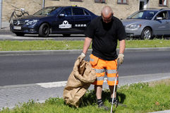 TAARNBY COUNCIL WORKER Stock Photography