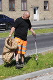 TAARNBY COUNCIL WORKER Stock Image