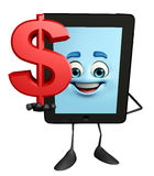 Tab Character with dollar sign Royalty Free Stock Photo
