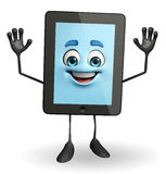 Tab Character with hello pose Stock Photography