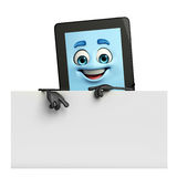 Tab Character with sign Royalty Free Stock Images