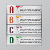 Tab Graphic Modern Template Style Vector. Tab Graphic Modern Template Style Royalty Free Stock Image