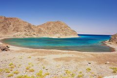Taba, Egypt. View of the fjord in Taba, Egypt Stock Photo