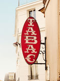 Tabac-sign Royalty Free Stock Images