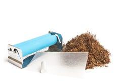 Tabacco da fiuto di rotolamento Fotografia Stock