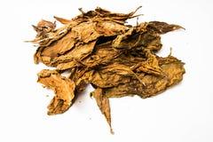 Tabacco della lista Immagine Stock