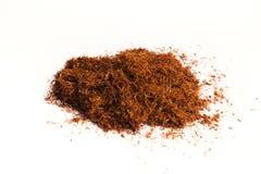 Tabacco isolato su bianco Fotografia Stock Libera da Diritti