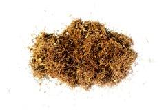 Tabaco aislado imagenes de archivo