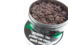 Tabaco de mascar imagen de archivo libre de regalías