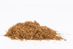 Tabaco seco fotografía de archivo libre de regalías