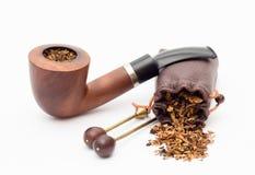 Tabaco-tubo imagen de archivo