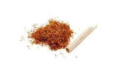 Tabaco y cigarro foto de archivo libre de regalías