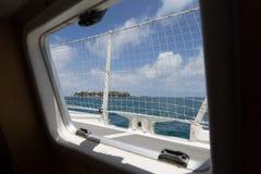 Tabaczni Cays w Belize Obraz Stock