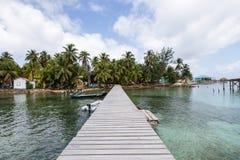 Tabaczni Cays w Belize Zdjęcia Stock