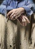 tabagisme Photographie stock libre de droits