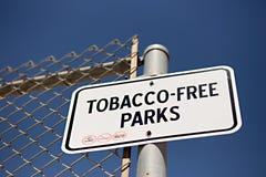 Tabak-freies Zeichen Lizenzfreies Stockbild