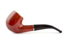 Tabakrohr über Weiß lizenzfreies stockfoto