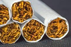 Tabakssigaret stock afbeelding