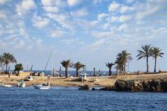 Tabarca ö i Spanien Arkivbilder