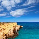 Tabarca island alicante mediterranean blue sea Stock Image