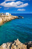 Tabarca island alicante mediterranean blue sea Stock Photos