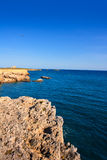 Tabarca island alicante mediterranean blue sea Stock Images