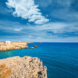 Tabarca island alicante mediterranean blue sea Royalty Free Stock Photo