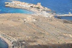Tabarca Island in Alicante, Spain Stock Photos