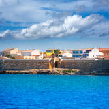 Tabarca island in Alicante Valencian Community Royalty Free Stock Photo