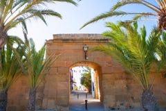Tabarca island in Alicante Valencian Community Stock Image
