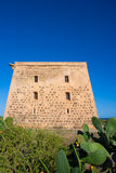 Tabarca island tower Torre de San Jose castle Alicante Royalty Free Stock Photography