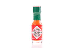 Tabasco Brand Chili Sauce Royalty Free Stock Photography