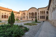 Tabatabaei议院在喀山,伊朗 免版税图库摄影